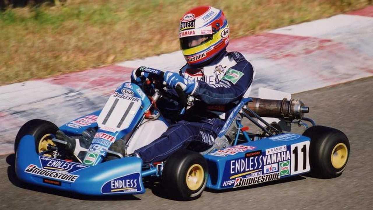 Kamui Kobayashi karting, 800, 07.10.2010