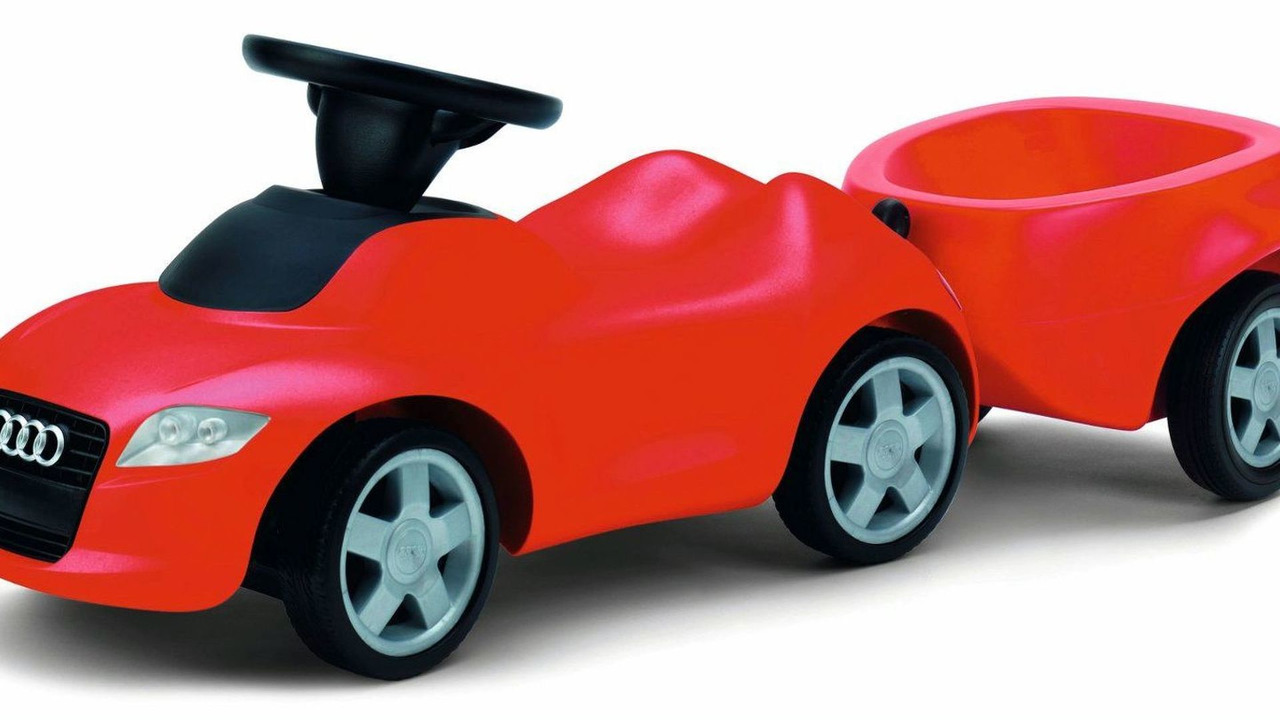 Audi First Auto Maker To Present At Toy Show