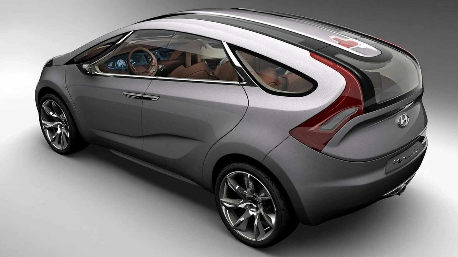 Hyundai HED-5 i-Mode concept features Theta Turbo GDI engine for