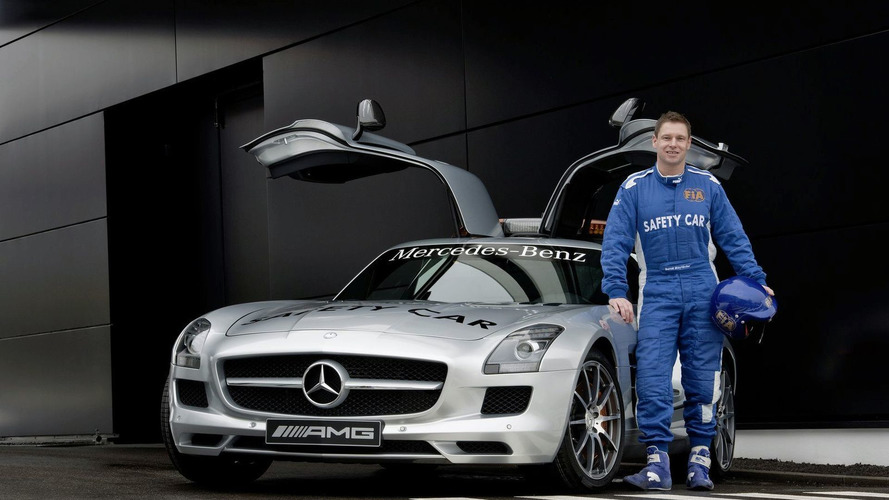 Mercedes-Benz SLS AMG is the New Formula 1 Safety Car