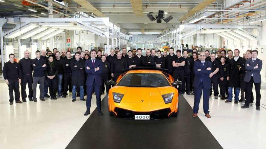 Lamborghini Produces 4,000th Murcielago - Arrives in China