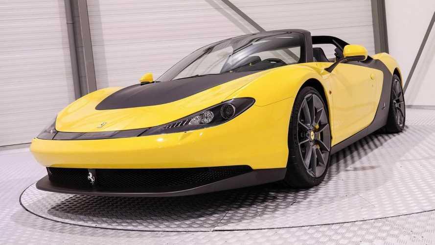 Cette Ferrari Sergio est à vendre plus de quatre millions d'euros