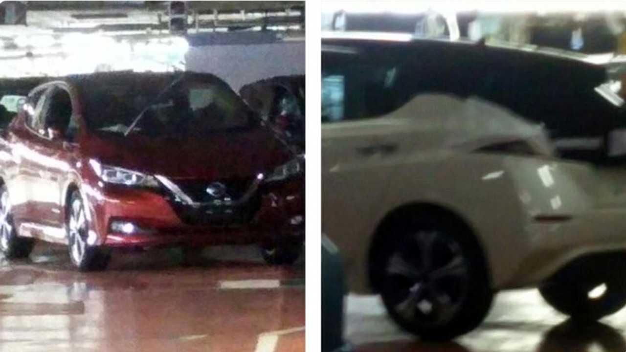 Nissan Leaf 2018 vaza na internet