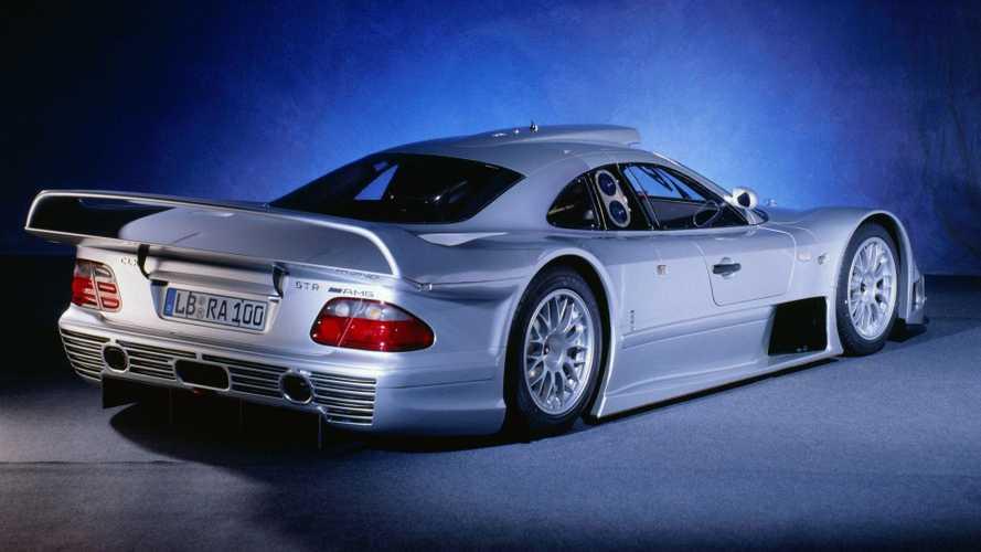 1.5 milliárd forintnál is többet adhatnak ezért a Mercedes-Benz CLK GTR-ért