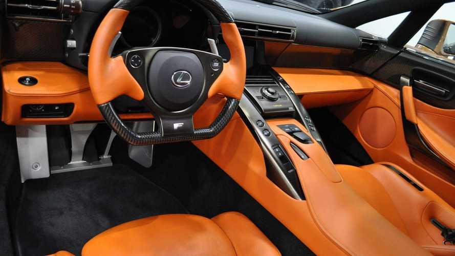 Lexus LFA Pearl Brown