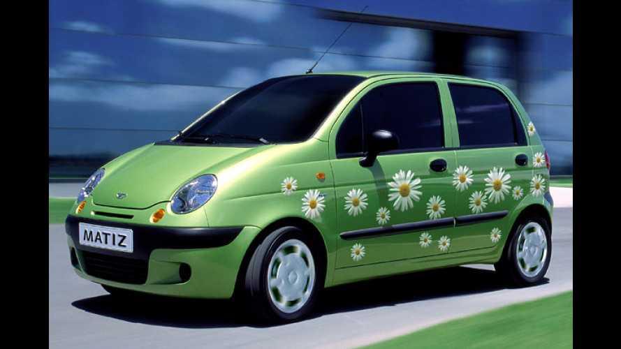 Daewoo Matiz: Miss Daisy sucht einen Chauffeur