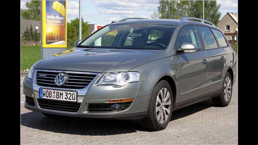 Motivations-Medizin: VW Passat Variant BlueMotion im Test