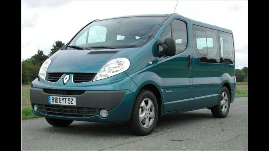 Transporter Renault Trafic (2006): Erneuerter Transporter