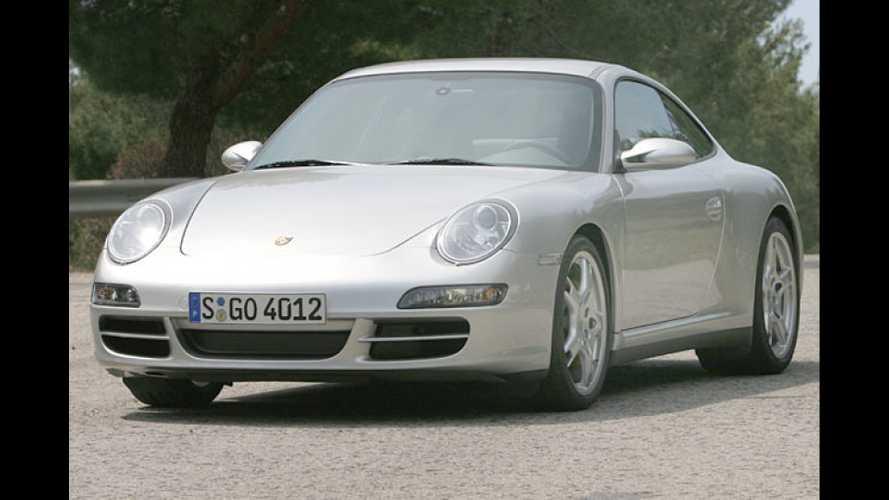 Schienen-Verkehr: Der neue Porsche 911 Carrera 4S im Test