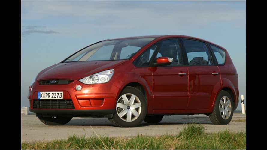 Viel Platz, viel Kraft: Starker Turbodiesel für den Ford S-Max
