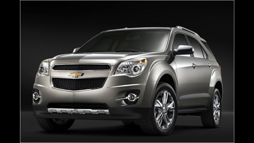 Weltpremiere in Detroit 2009: Der Chevrolet Equinox 2010