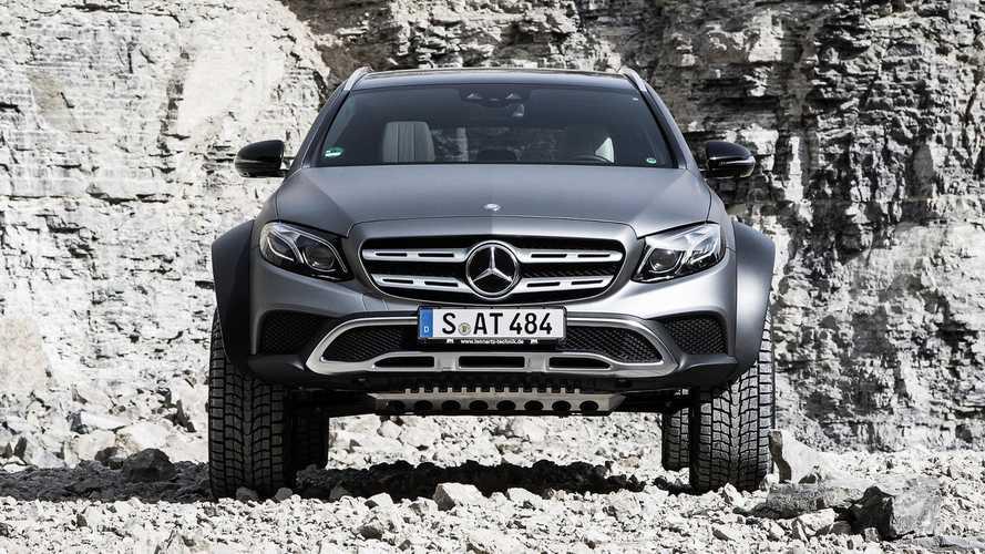 Mercedes-Benz Clase E All-Terrain 4x4²: no lo parece, pero es real