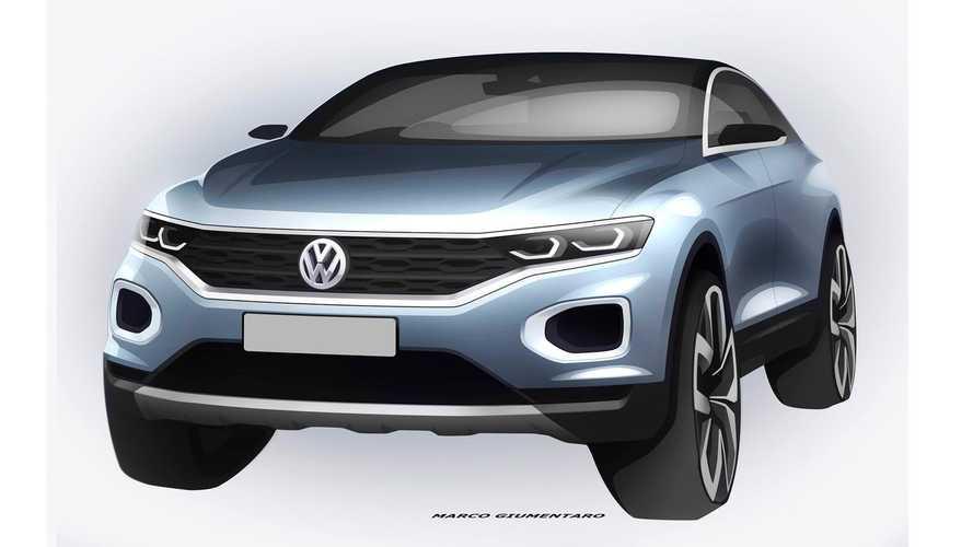Novo VW T-ROC aparece mais uma vez. Agora, em desenhos oficiais
