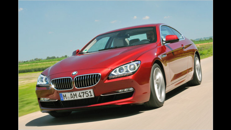 Münchner Eleganz: Das neue BMW 6er Coupé