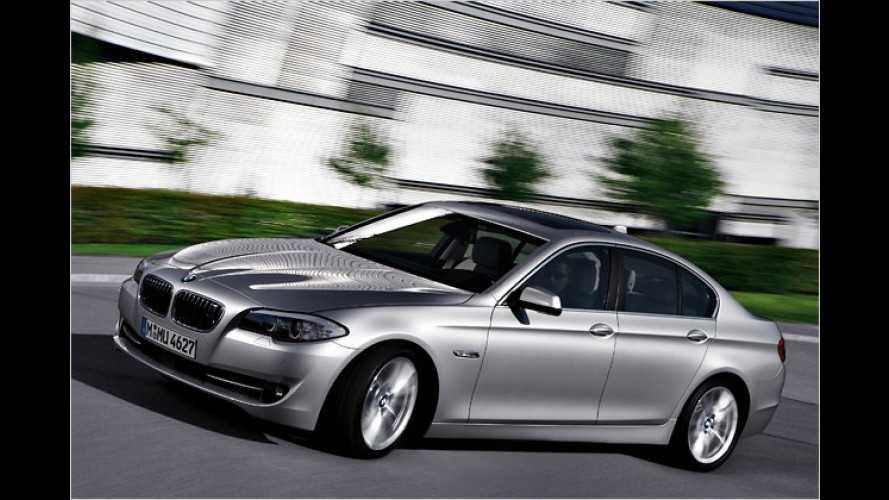 Vier Zylinder und Aufladung: Neue Motoren für den BMW 5er