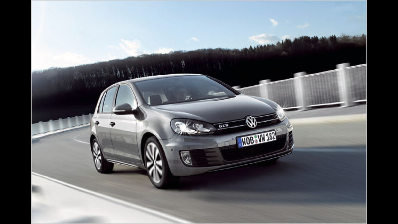 VW Golf GTD (2009)