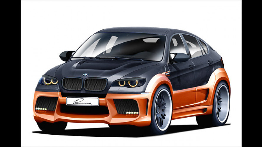 Leder und Spoiler: BMW X6 als Lumma CLR X 650