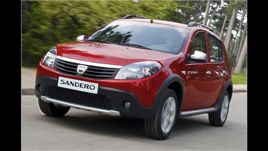 Dacia Stepway: Crossover mit erhöhter Bodenfreiheit