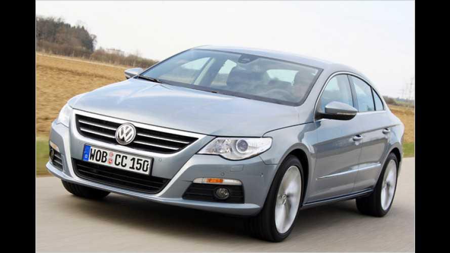 VW Passat CC: Eleganter Flachdach-Gleiter im Test