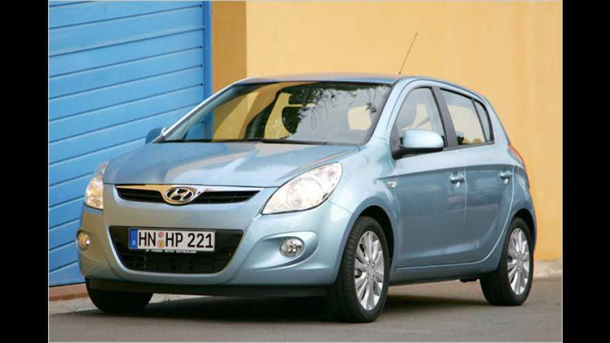Hyundai i20 zum Modelljahr 2011 sparsamer