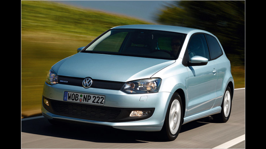 Sparsamstes Diesel-Auto überhaupt: VW Polo BlueMotion