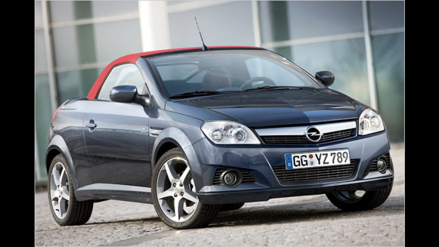 "Der Opel Tigra TwinTop ,Illusion"" im Soft-Top-Look"