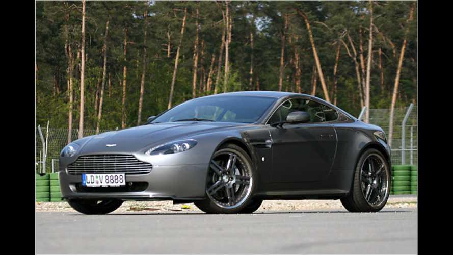 Nobler Brite: Cargraphic Aston Martin V8 Vantage im Test