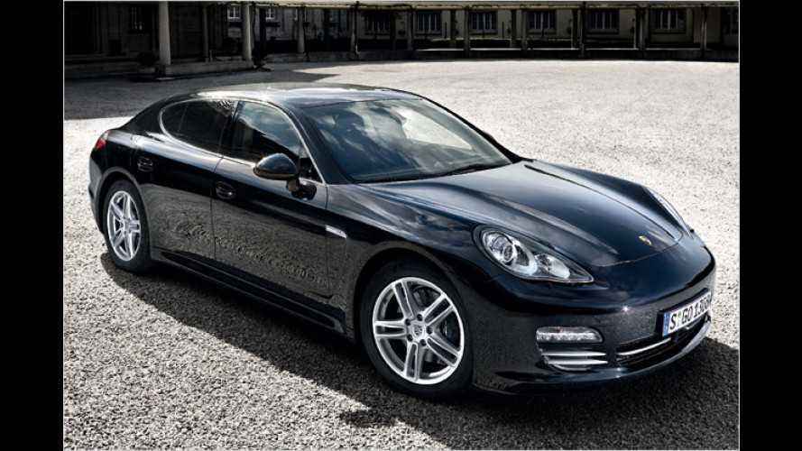 Nimm minus zwei: Porsche Panamera im Test