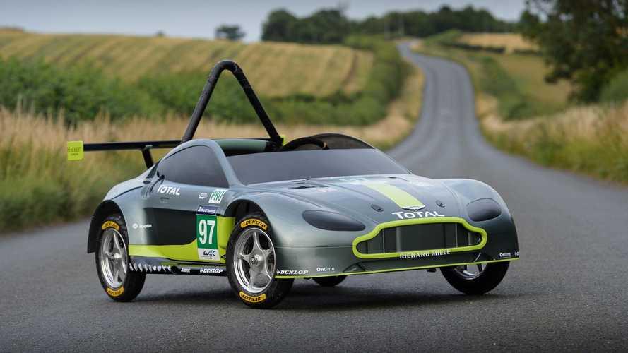 Voici la nouvelle Aston Martin de course sans moteur !