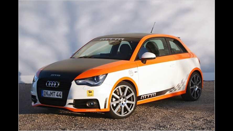 Mehr auf der Pfanne: MTM macht den Audi A1 flotter