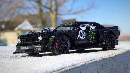 Hoonicorn Mustang: Lego y Technic le dan vida (vídeo)