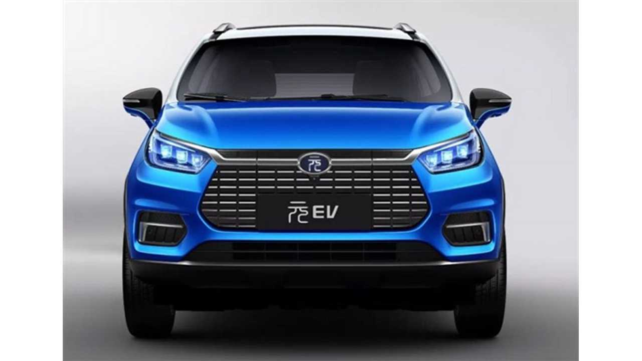 BYD Launches New Yuan EV535 Electric SUV