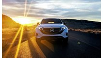 Mercedes-Benz EQC 400 Extended Drive To Red Rock Canyon