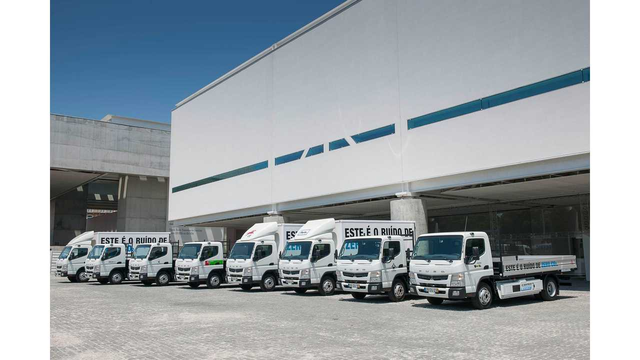 Fuso Canter E-Cell Customer Trials Completed In Portugal