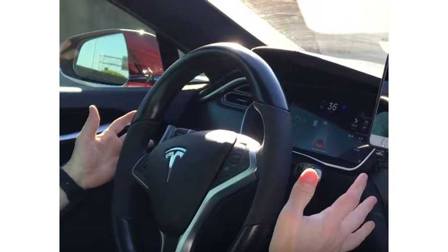 Tesla Model S Owners Post Autopilot Videos