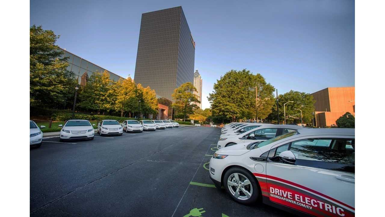 Georgia Power fleet of EVs