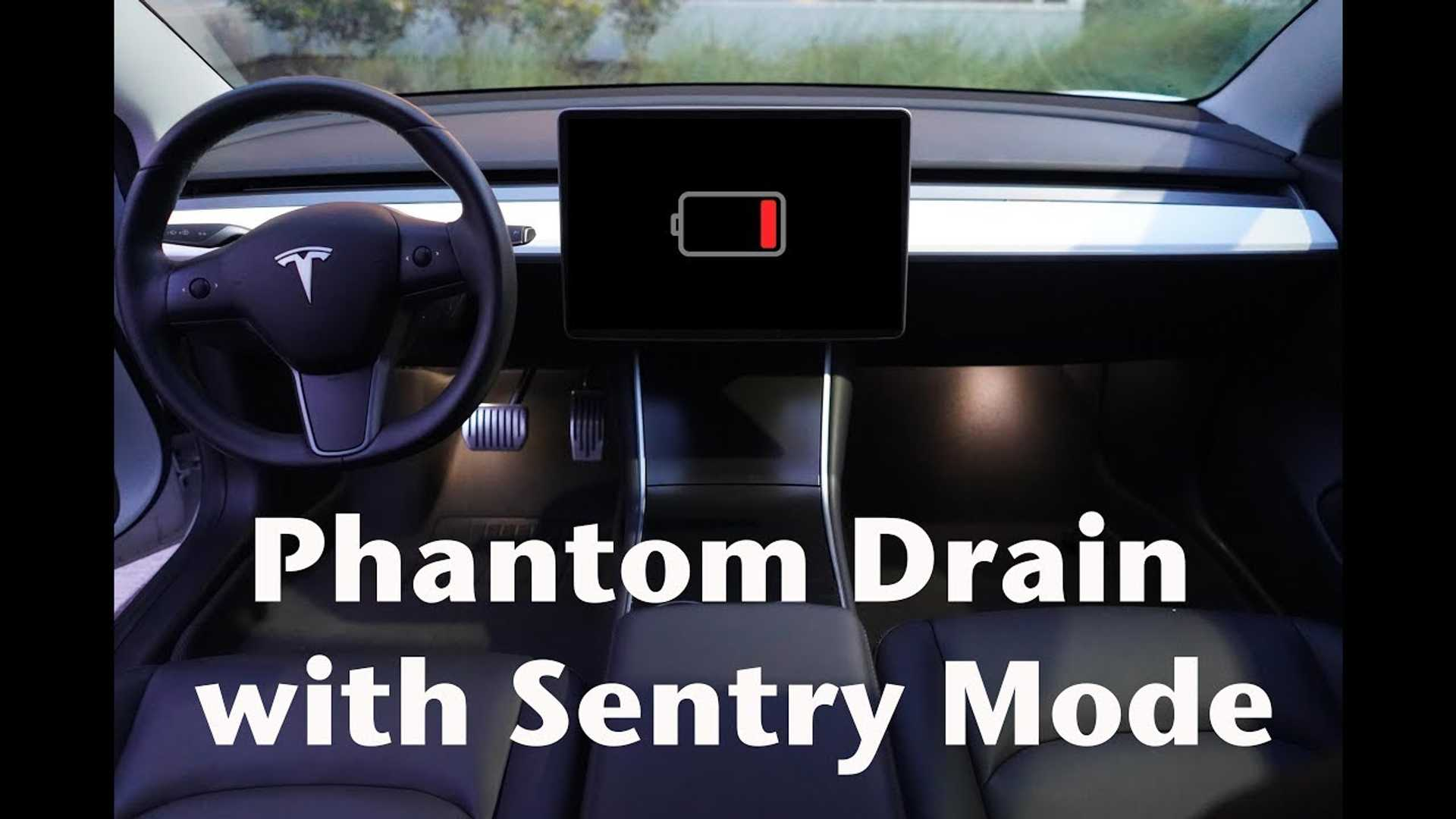 Tesla Model 3 Sentry Mode Drains How Much Of Battery: Video