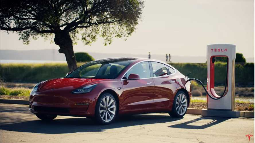 Tesla Offers One Year Of Free Model 3 & Y Supercharging To End 2020