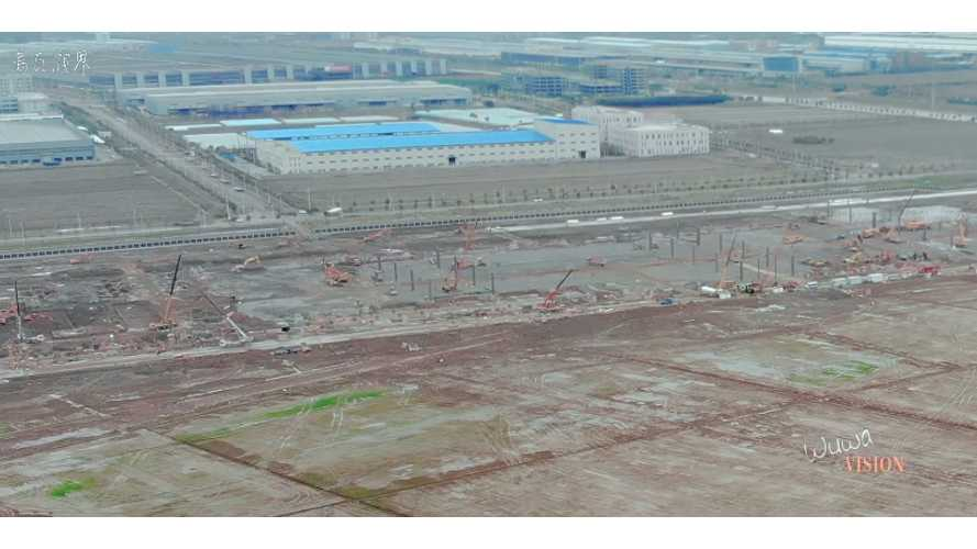 Work Now At Full Steam On Tesla Gigafactory 3 In China: Video