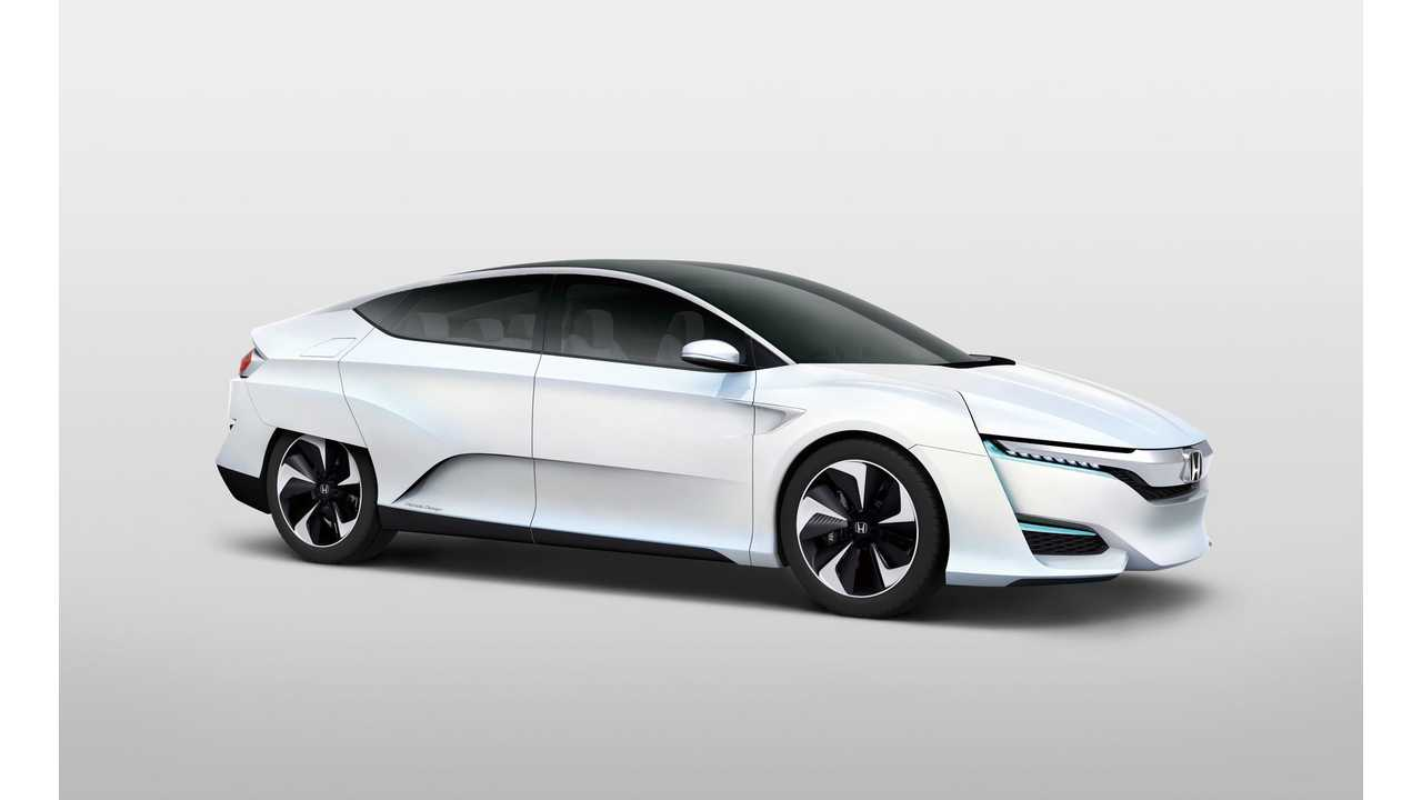 Honda FCV Concept To Make North American Debut At 2015 Detroit Auto Show