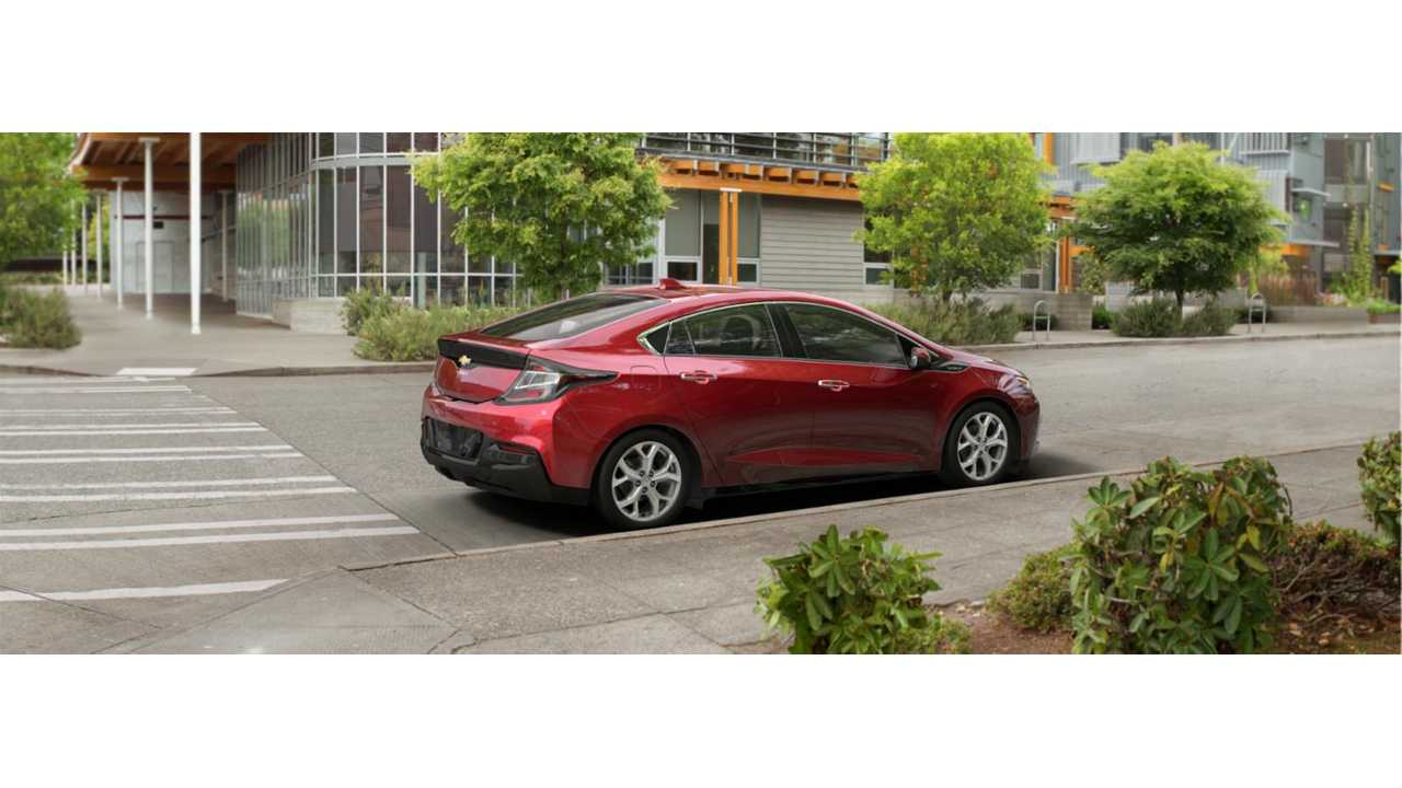 The Next Generation 2016 Chevrolet Volt (show here in LTZ Siren Red Tintcoat Trim) Has Caused 2015 Model Year Sales To Plummet