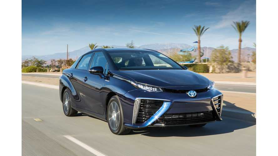 Toyota Mirai Can Serve As Emergency Power Supply Using CHAdeMO