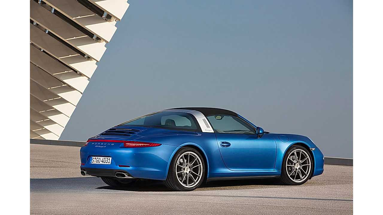 Porsche Boss: 911 Plug-In Hybrid A Possibility