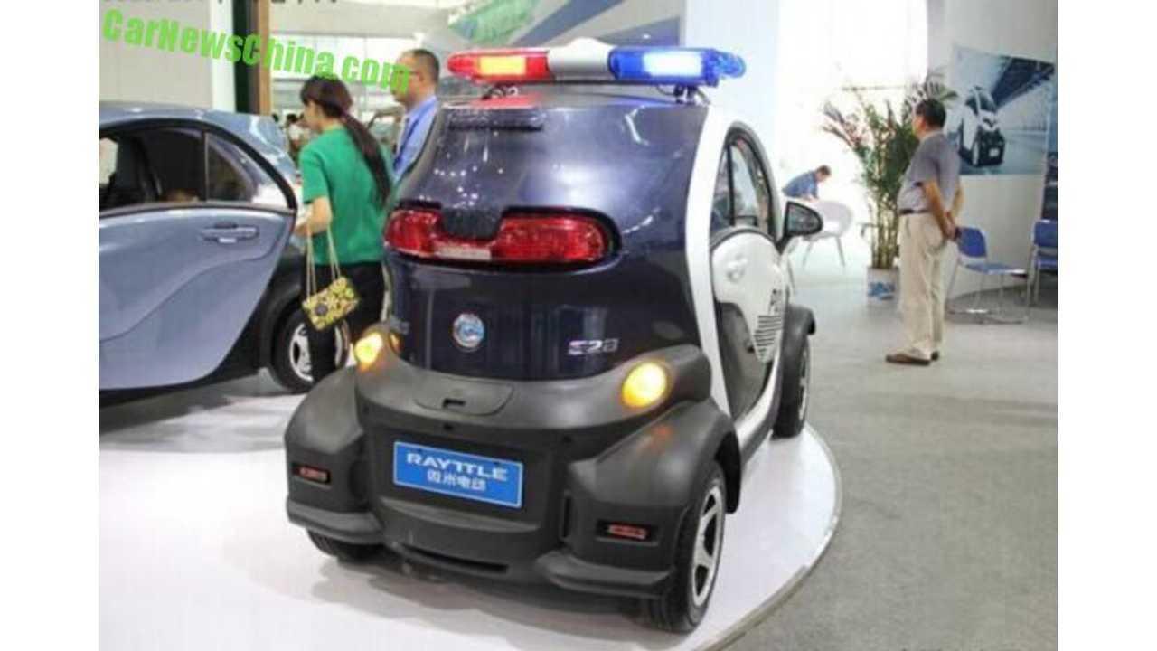 Rayttle E28 EV police (source: <a href=