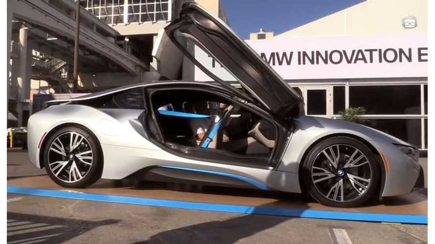 Once You Get In BMW i8, You Will Struggle To Get Out - Video