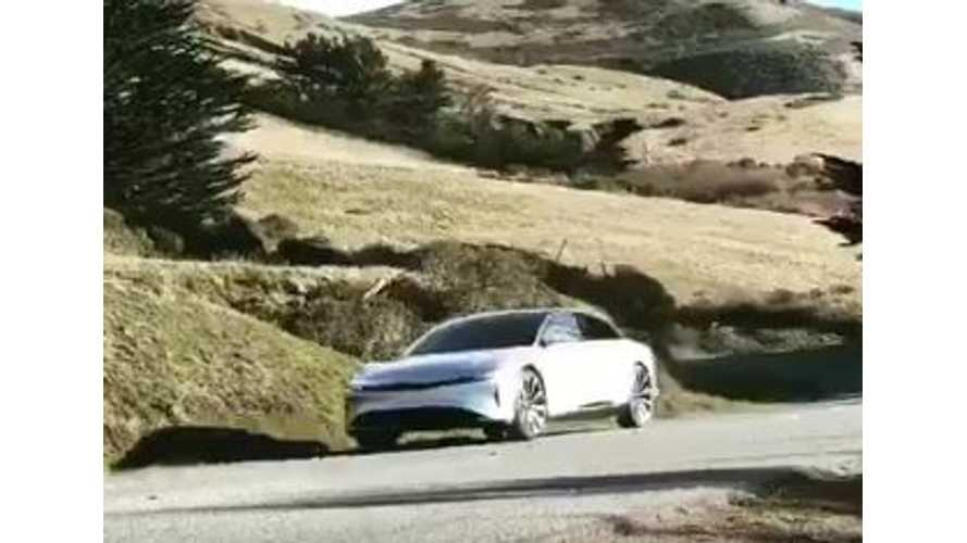 Lucid Air Hits The Road In New Teaser Video