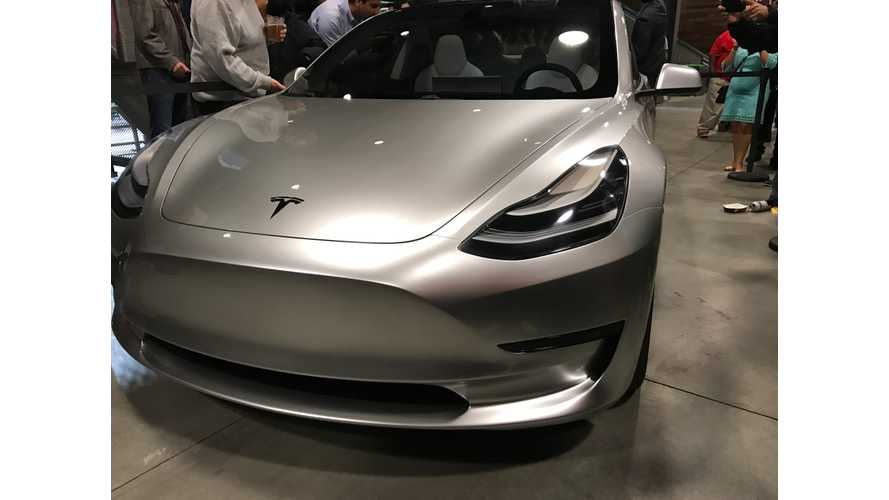 Tesla Confirms Cancellation Of Model 3 Supply Order Due To Supplier's Inability To Meet Technical Standards