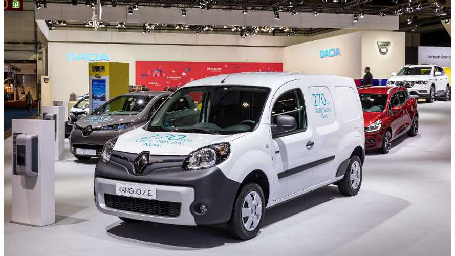 Renault Kangoo Z.E. Gets 33 kWh Battery Update, 50% More Range