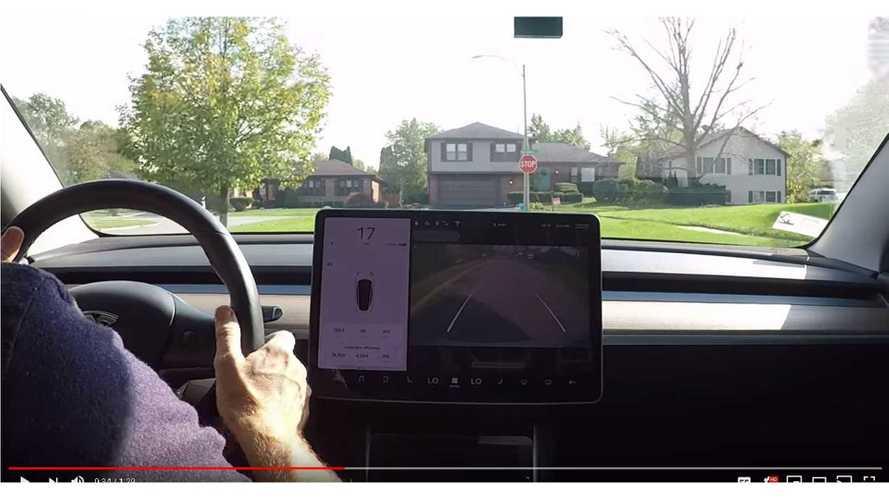 Watch How Fast A Tesla Model 3 Goes In Reverse