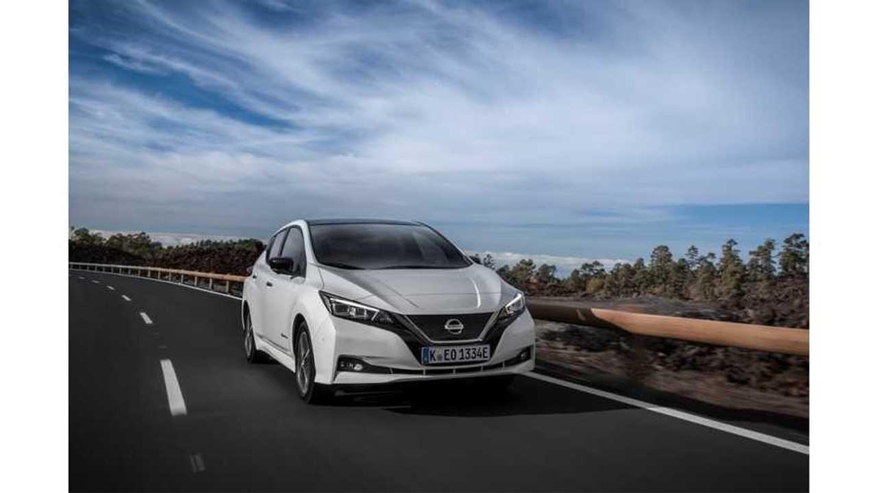 Nissan LEAF Sales In Europe Dip Below 2,500 In August 2018